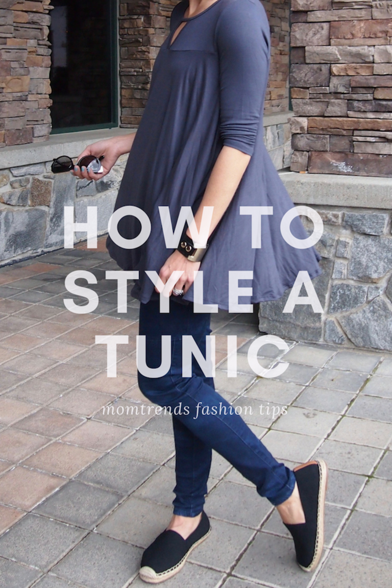 how to style a tunic three ways