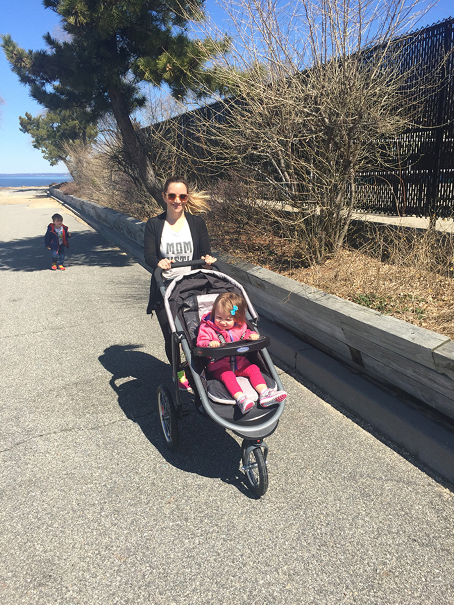 spring stroller jog