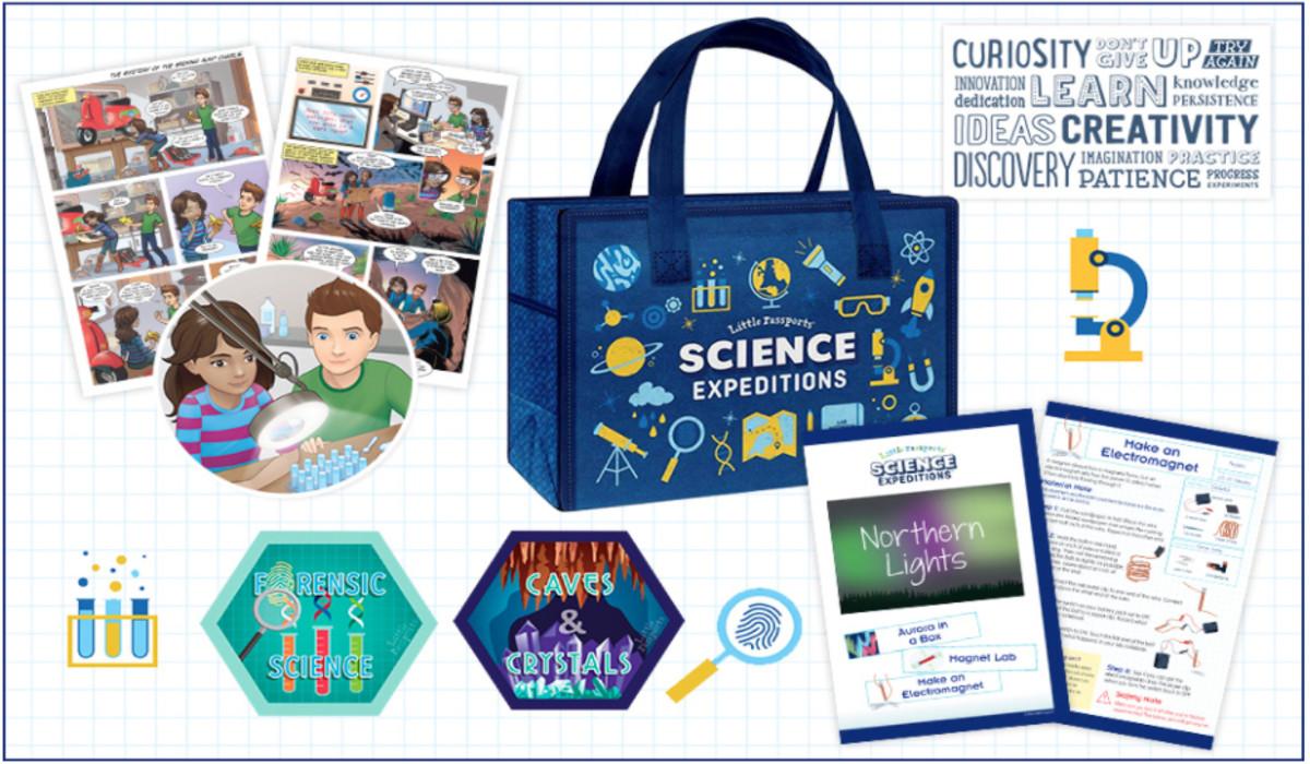 Little Passports Science Kit