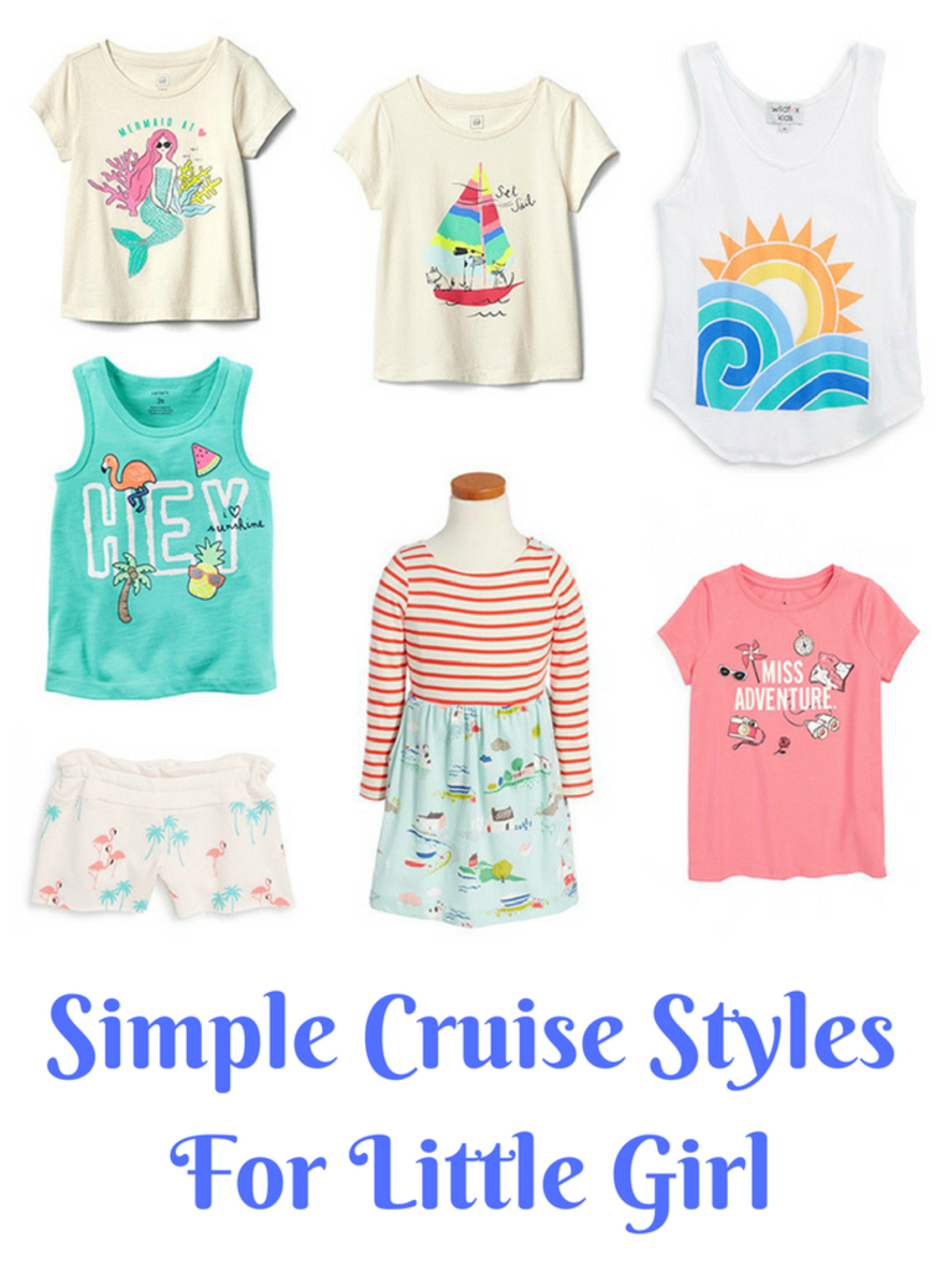 Simple Cruise StylesFor Little Girl