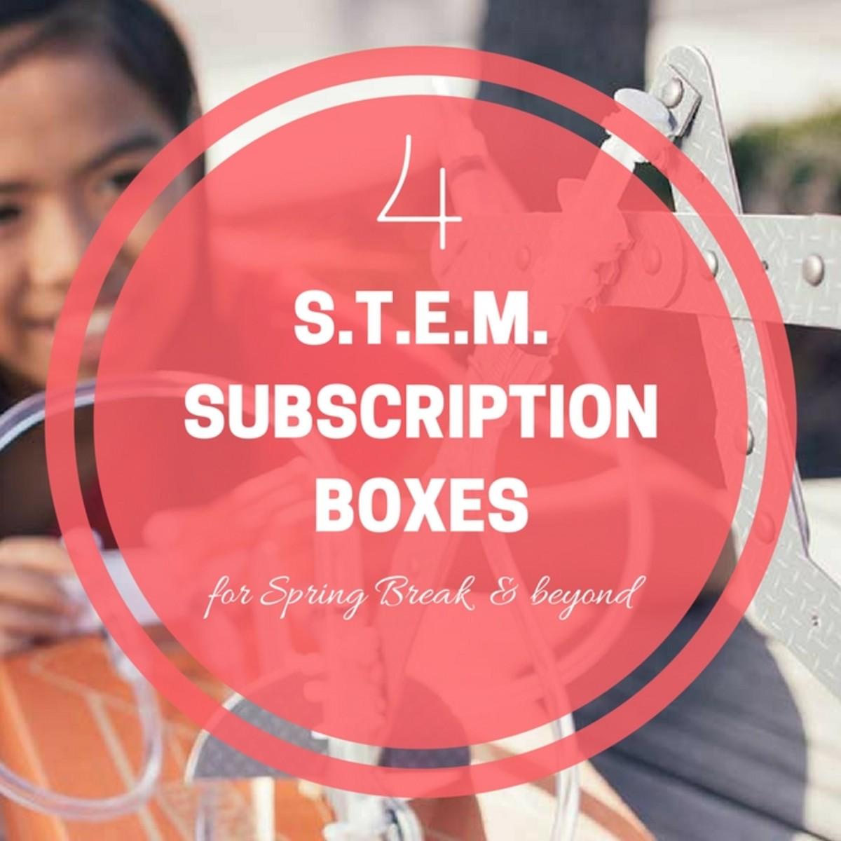 S.T.E.M. SUBSCRIPTION BOXES