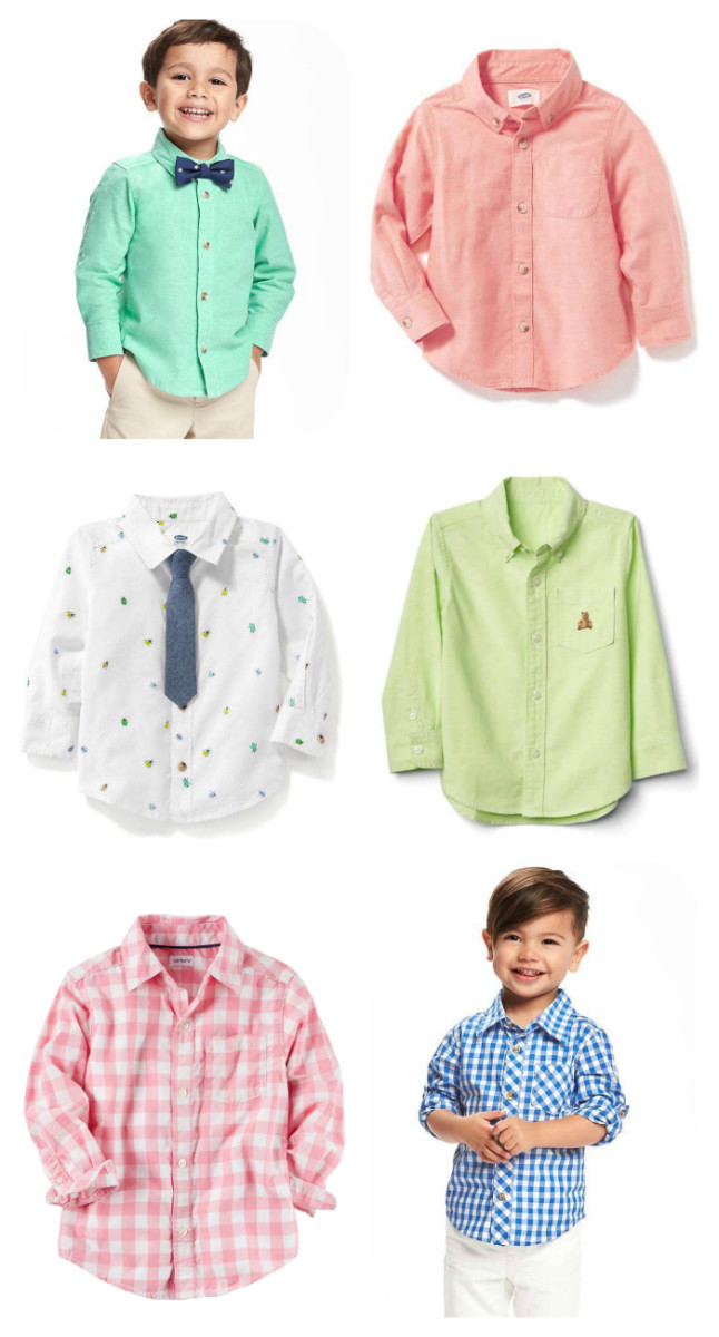 toddler oxford shirts