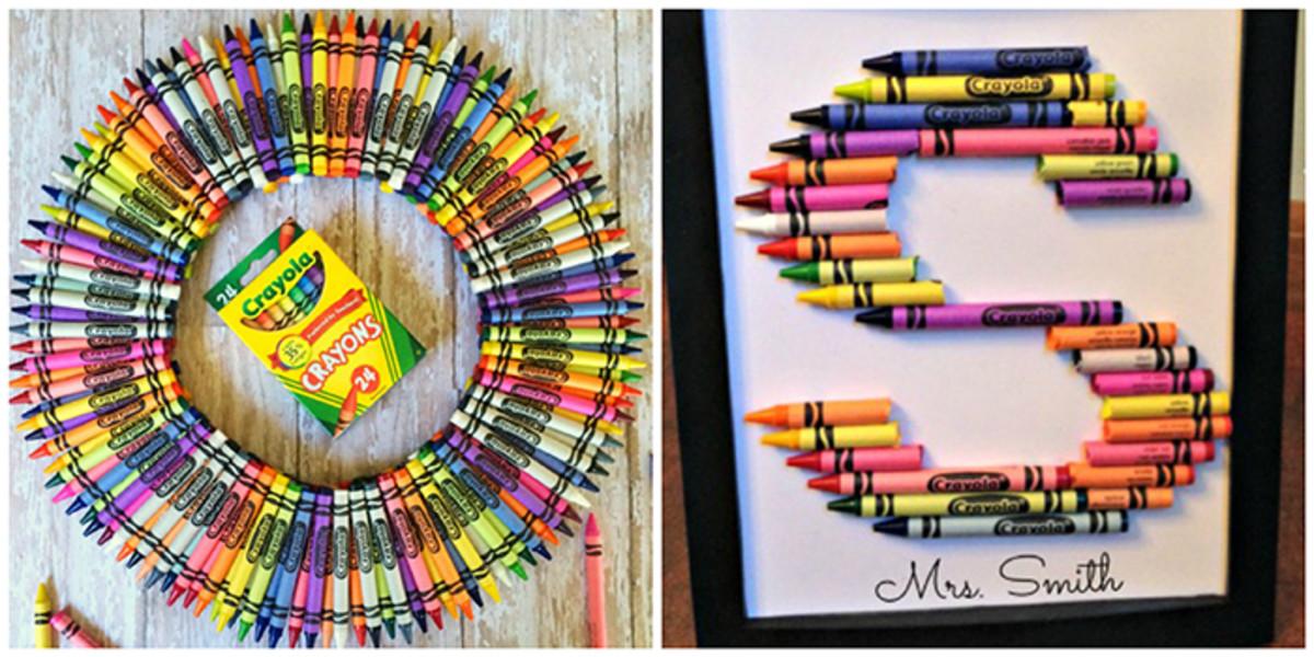crayon crafts