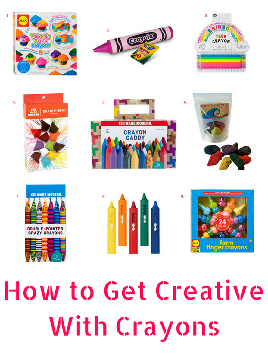 How to Get Creative With Crayons
