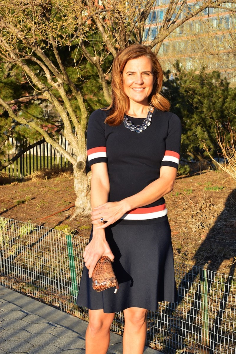 Styling spring knits to look fabulous at work or play