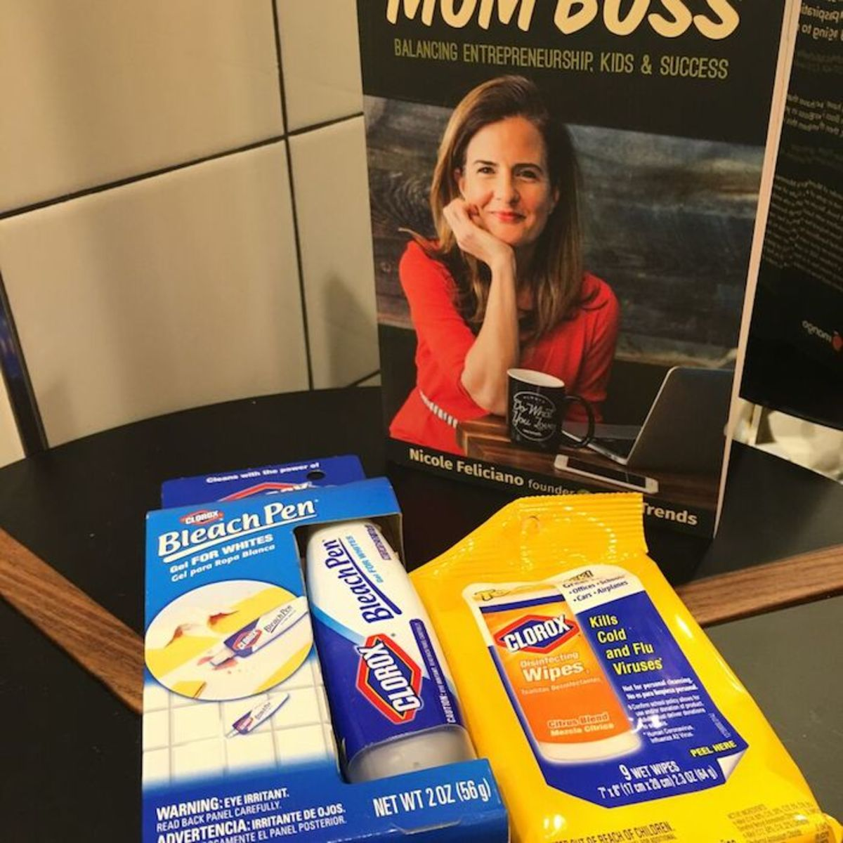 mom boss and clorox