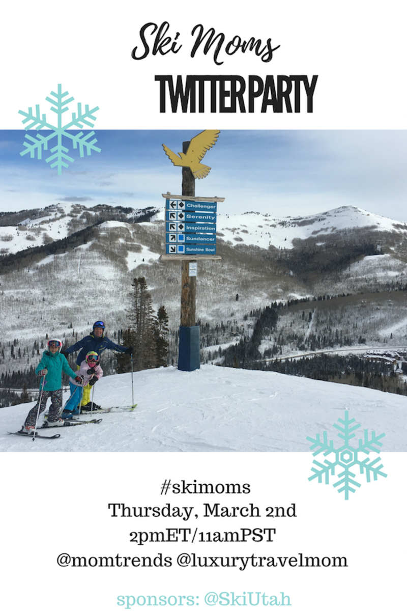 Ski Utah #SkiMoms Twitter Party