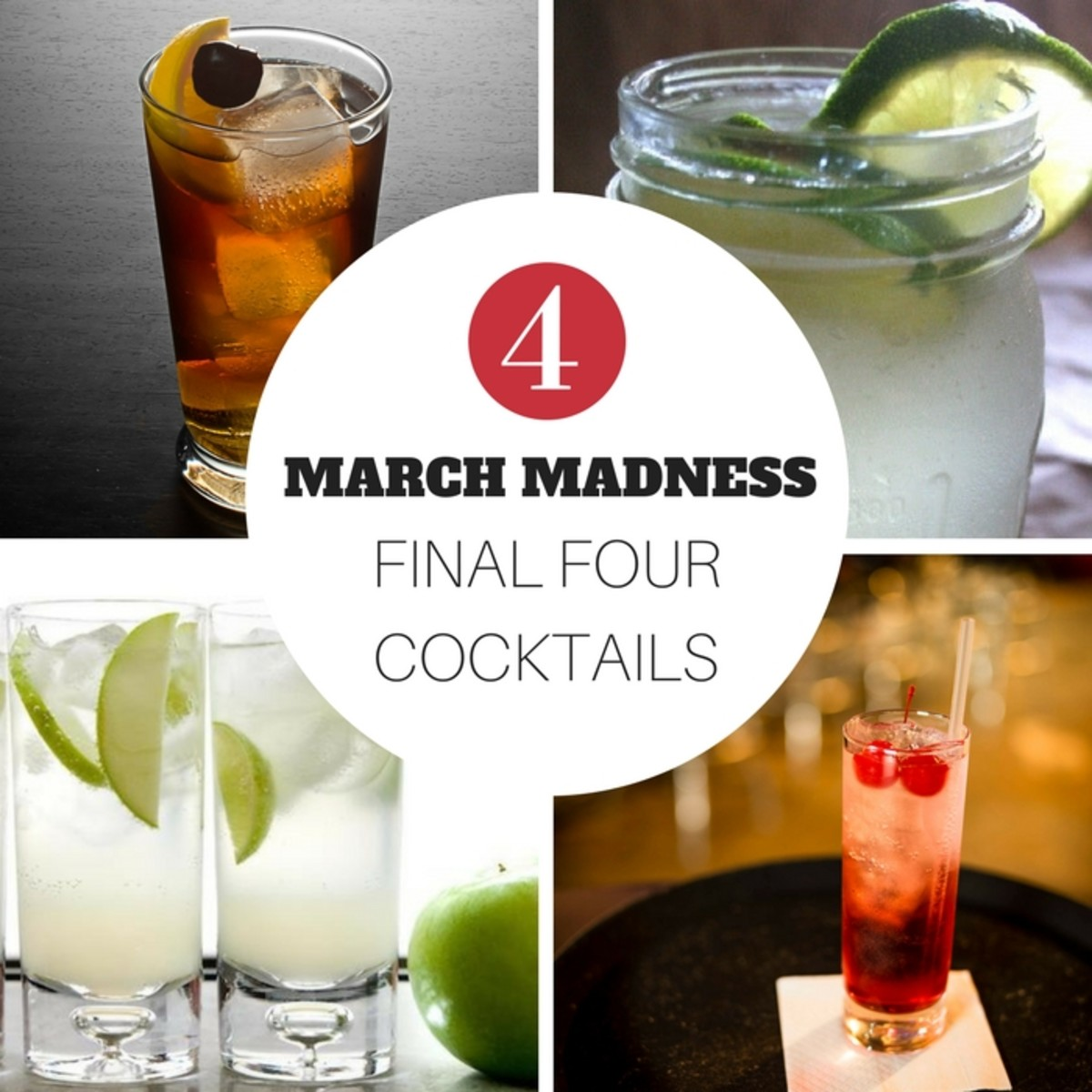 March Madness Final Four Cocktails