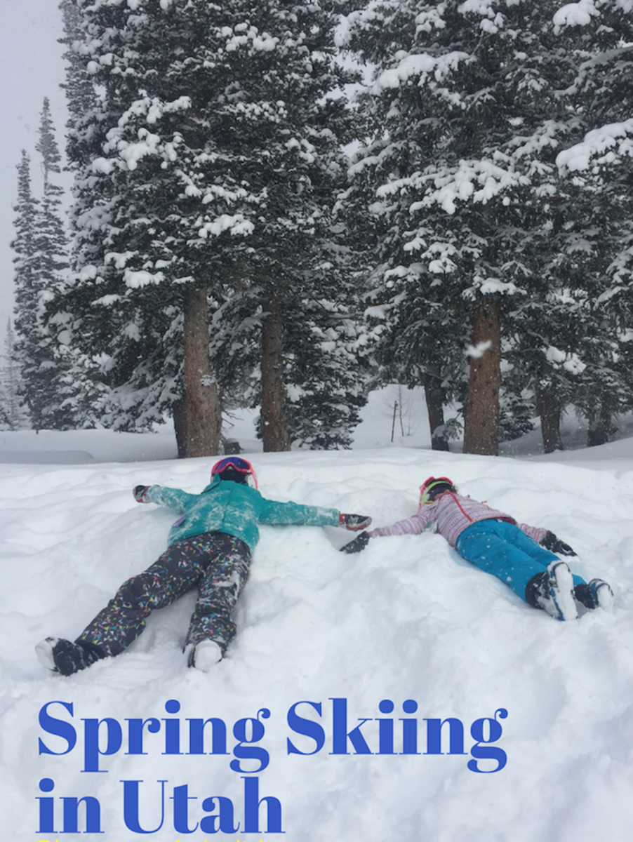 Spring Skiing in Utah