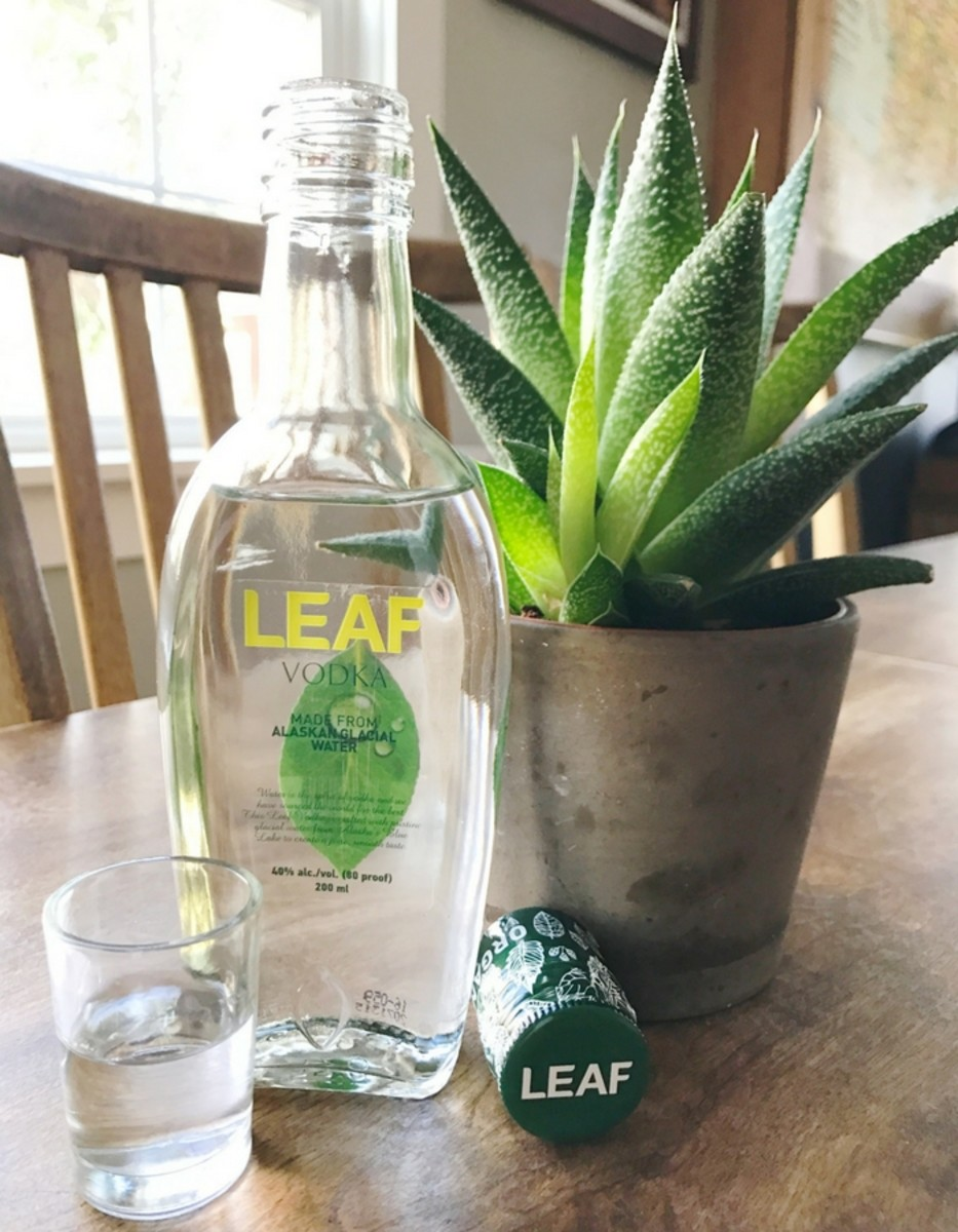 LEAF Vodka Alaskan Glacier