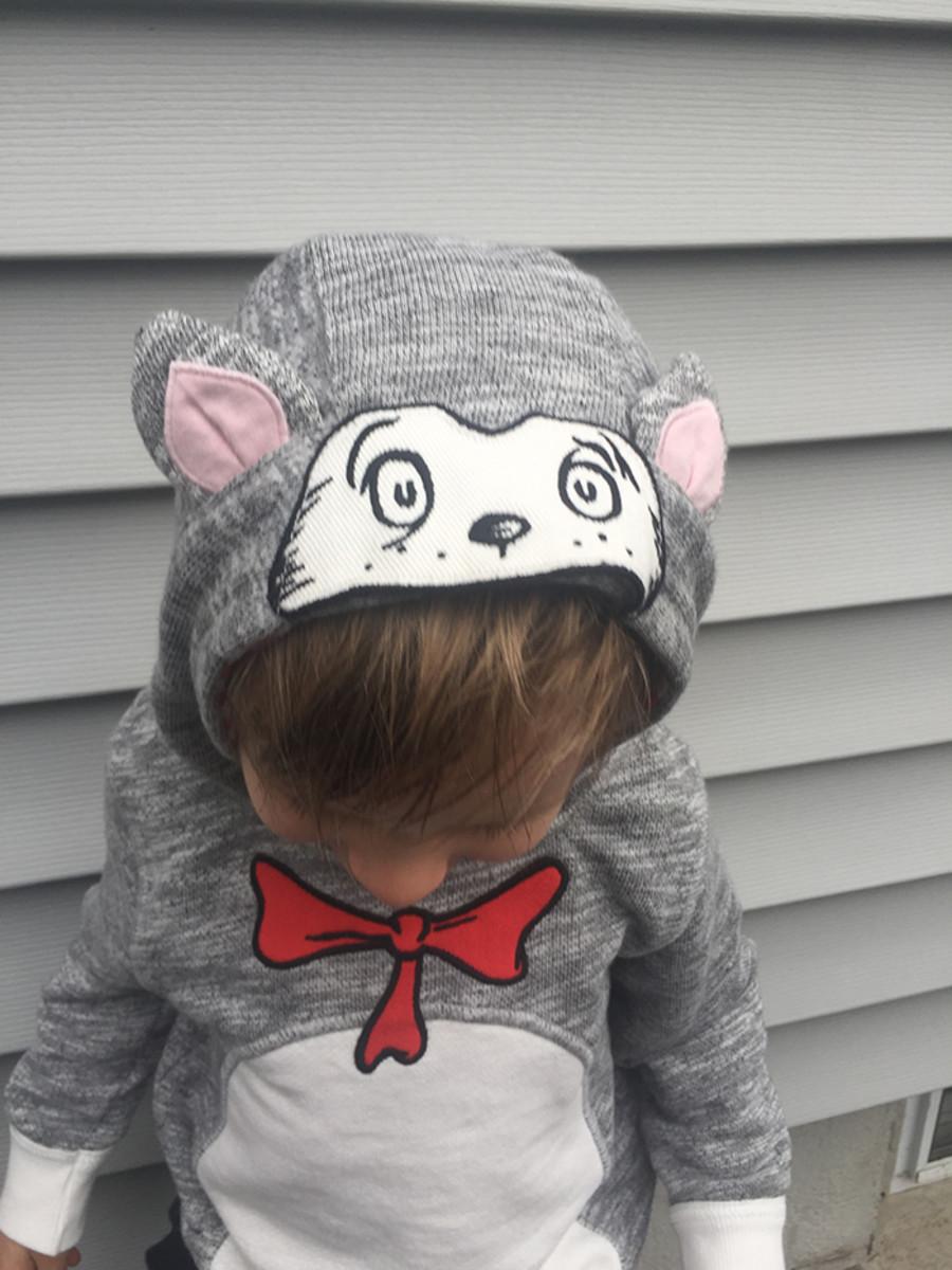 seuss hooded sweatshirt