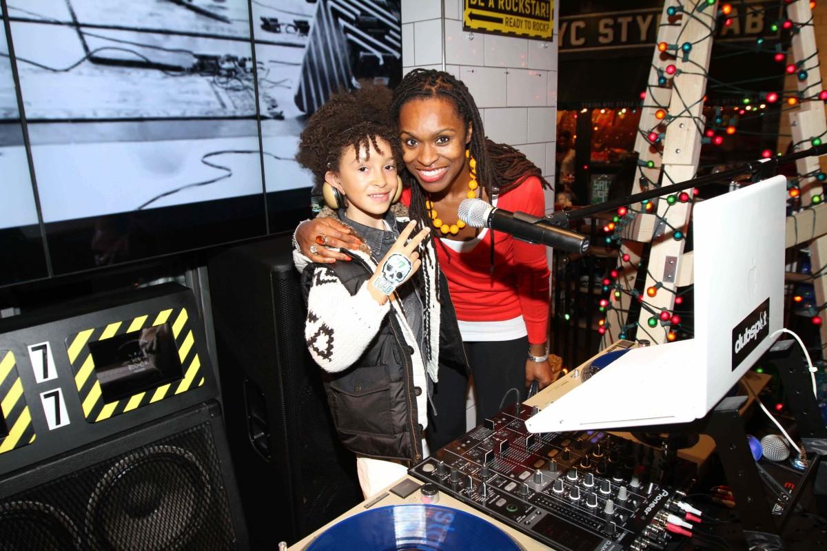DJ Fulano and mom Latham[1][2]