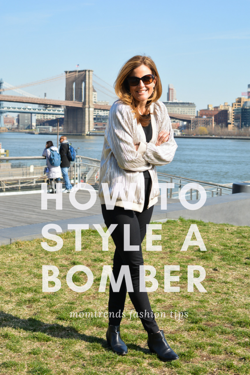 Styling a Bomber Jacket: Styling tips for fun fashion