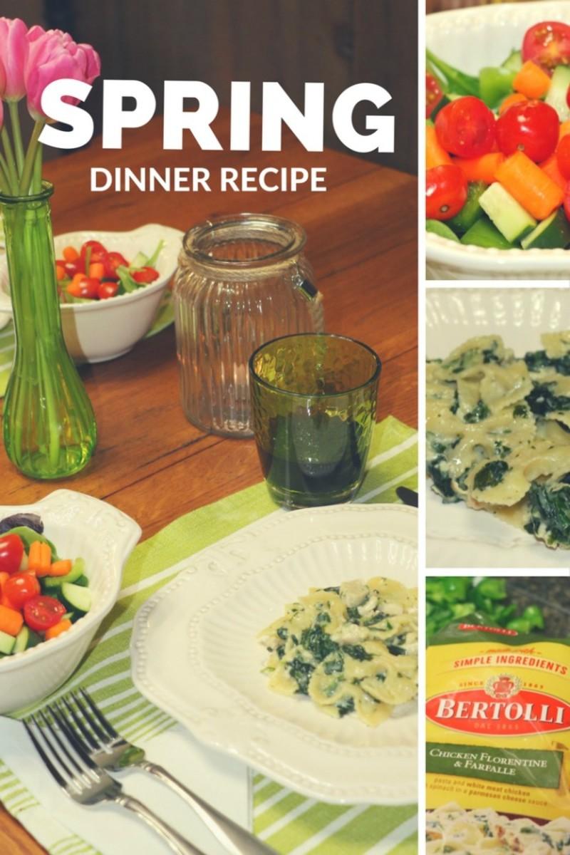 spring dinner recipe