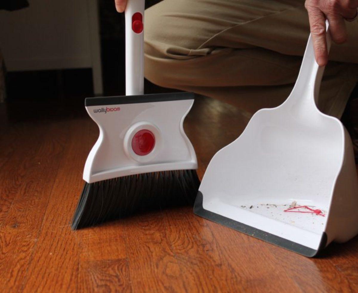 clean up broom, wet and dry broom, floor pick up, valentines day giveaway, giveaway
