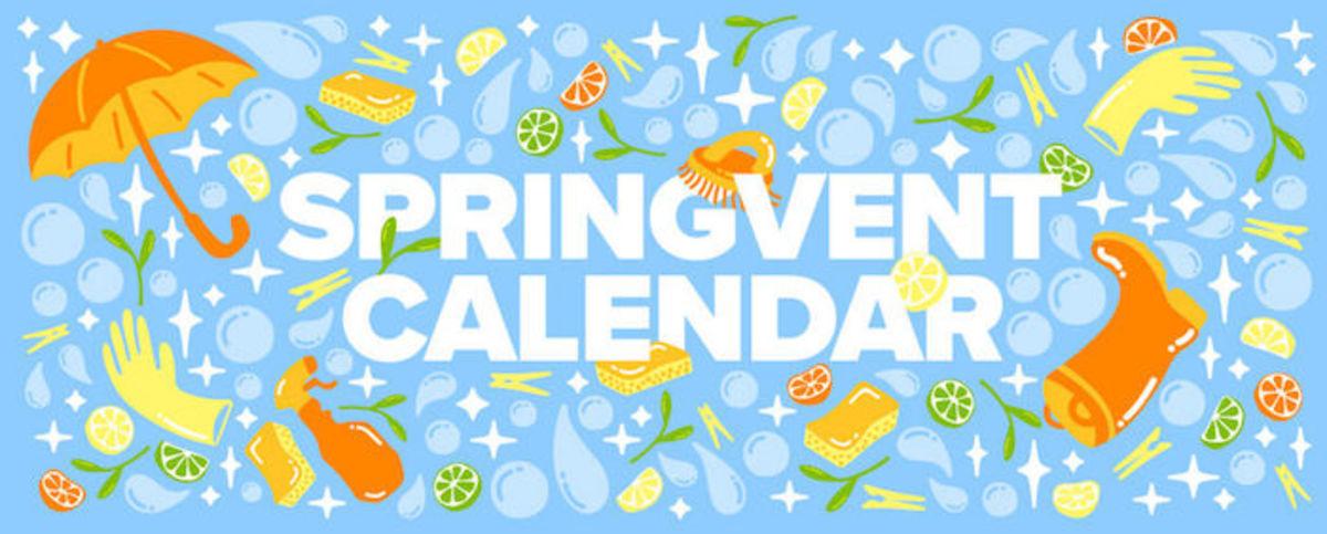 springvent calendar
