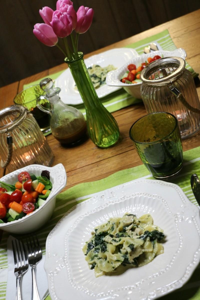 simple spring dinner recipe