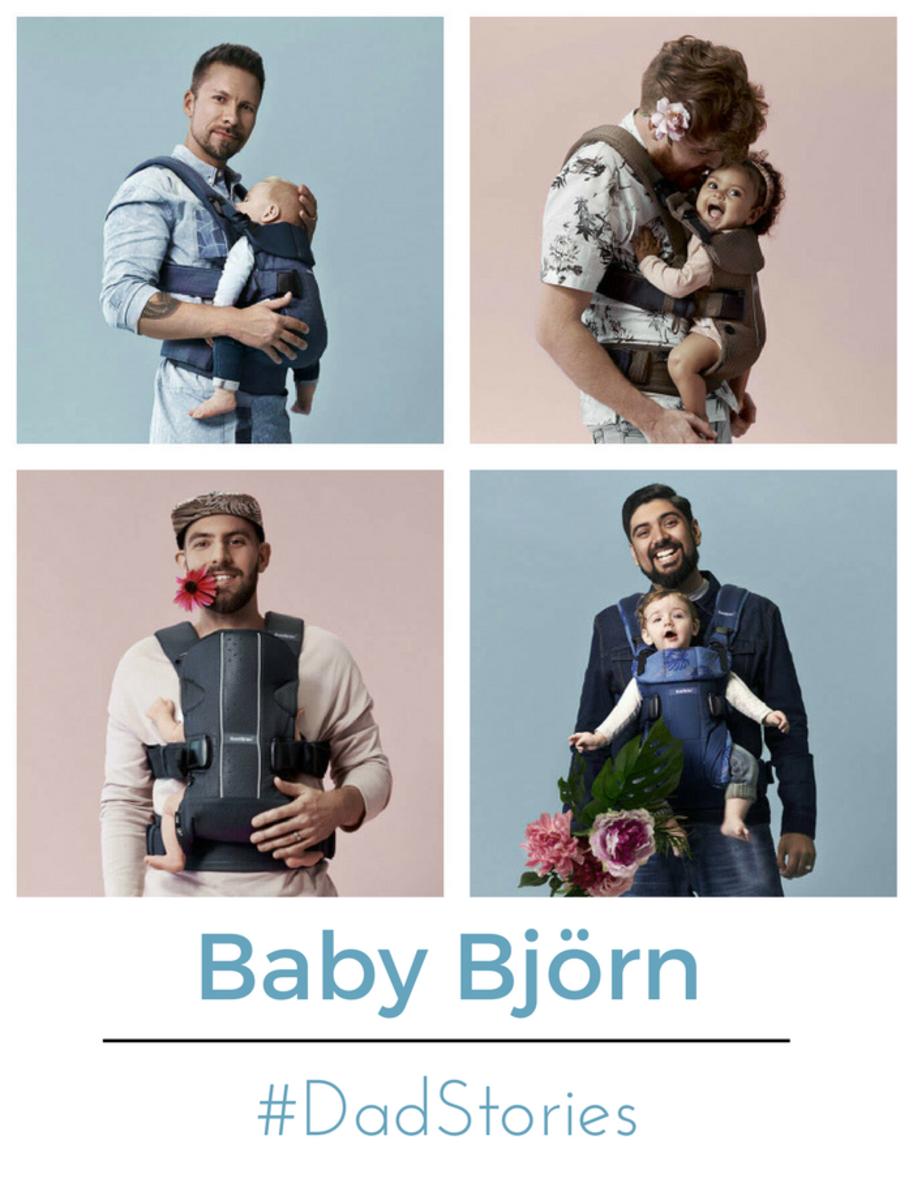 babybjorn dad stories