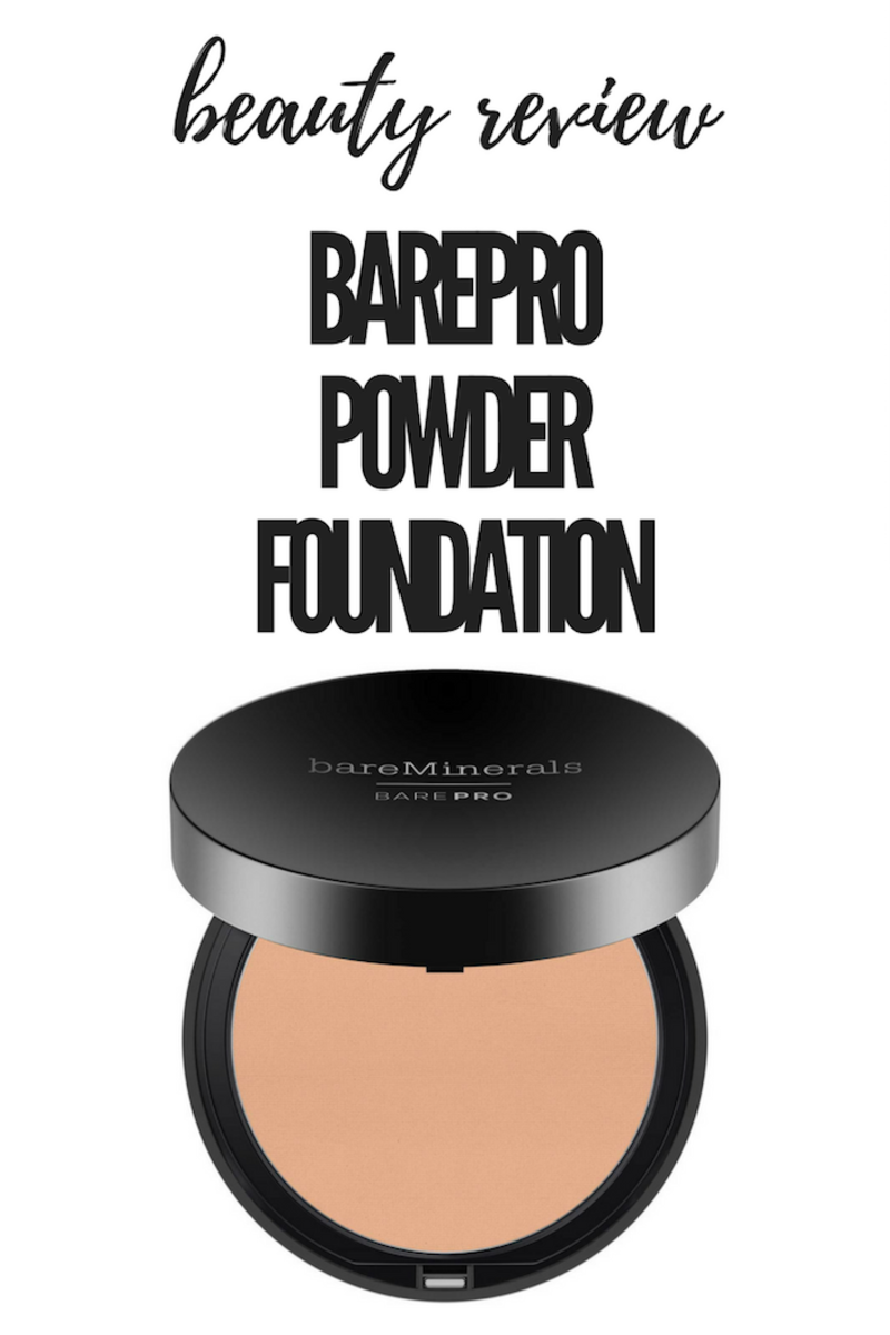 BarePro Performance Foundation from bareMinerals review