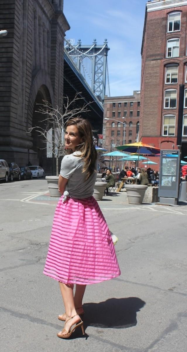 Swingy Pink Skirt