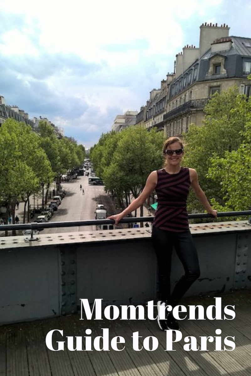 Momtrends Guide to Paris