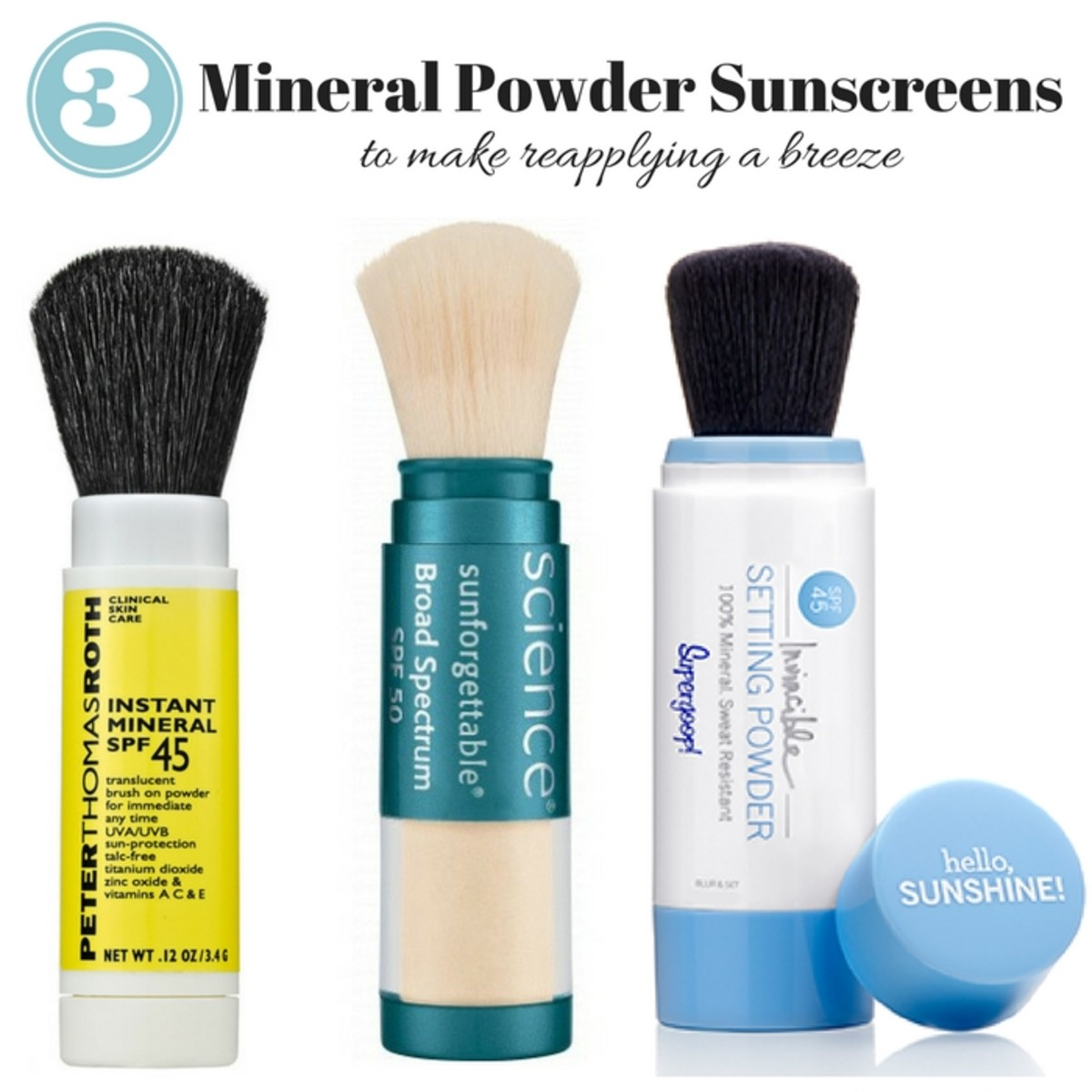 Mineral Powder Sunscreen