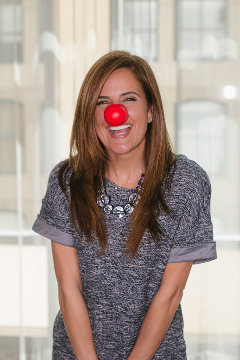 Red Nose Mom