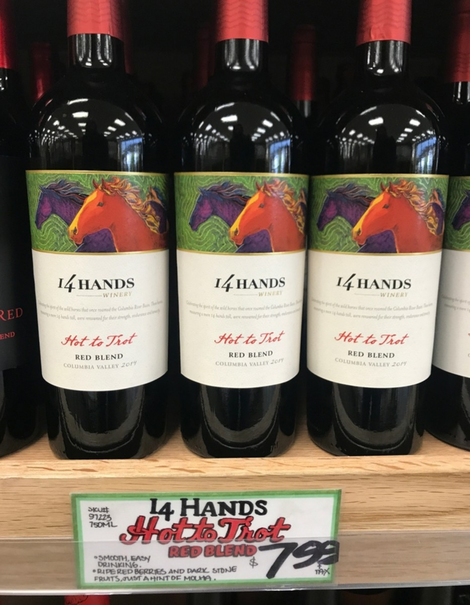 Trader Joe's Wine - 14 Hands Hot to Trot Red Blend