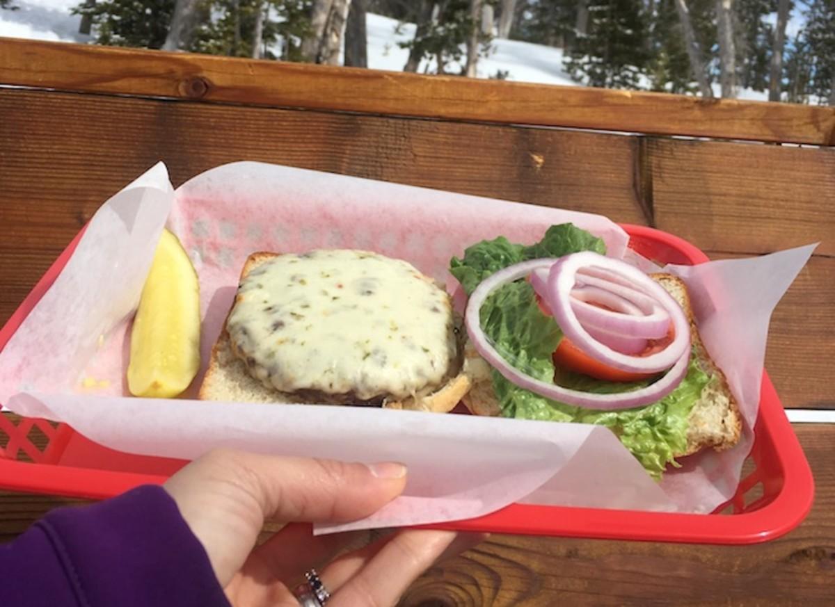 bison burger shedhorn grill