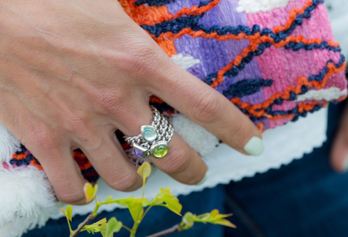 Margo Manhattan Stackable Rings