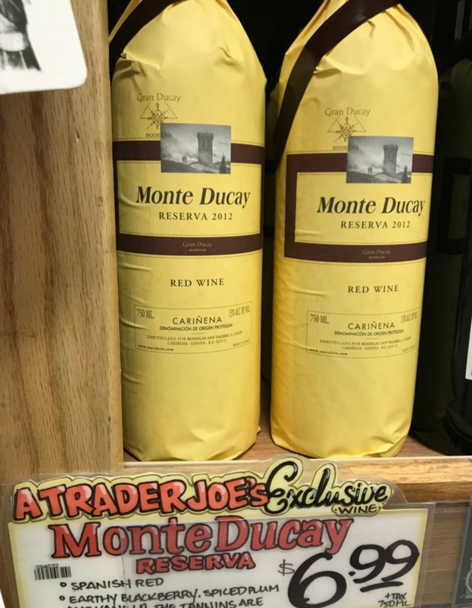Trader Joe's Wine - Monte Ducay Red