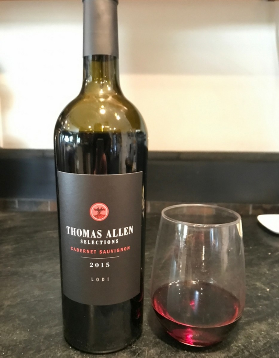 Trader Joe's Wine Thomas Alleb Cab