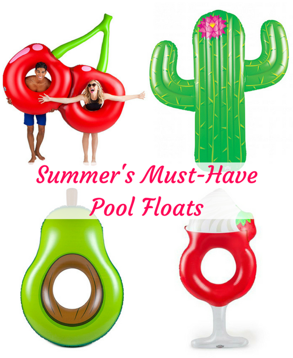 Summer's Must-Have Pool Floats