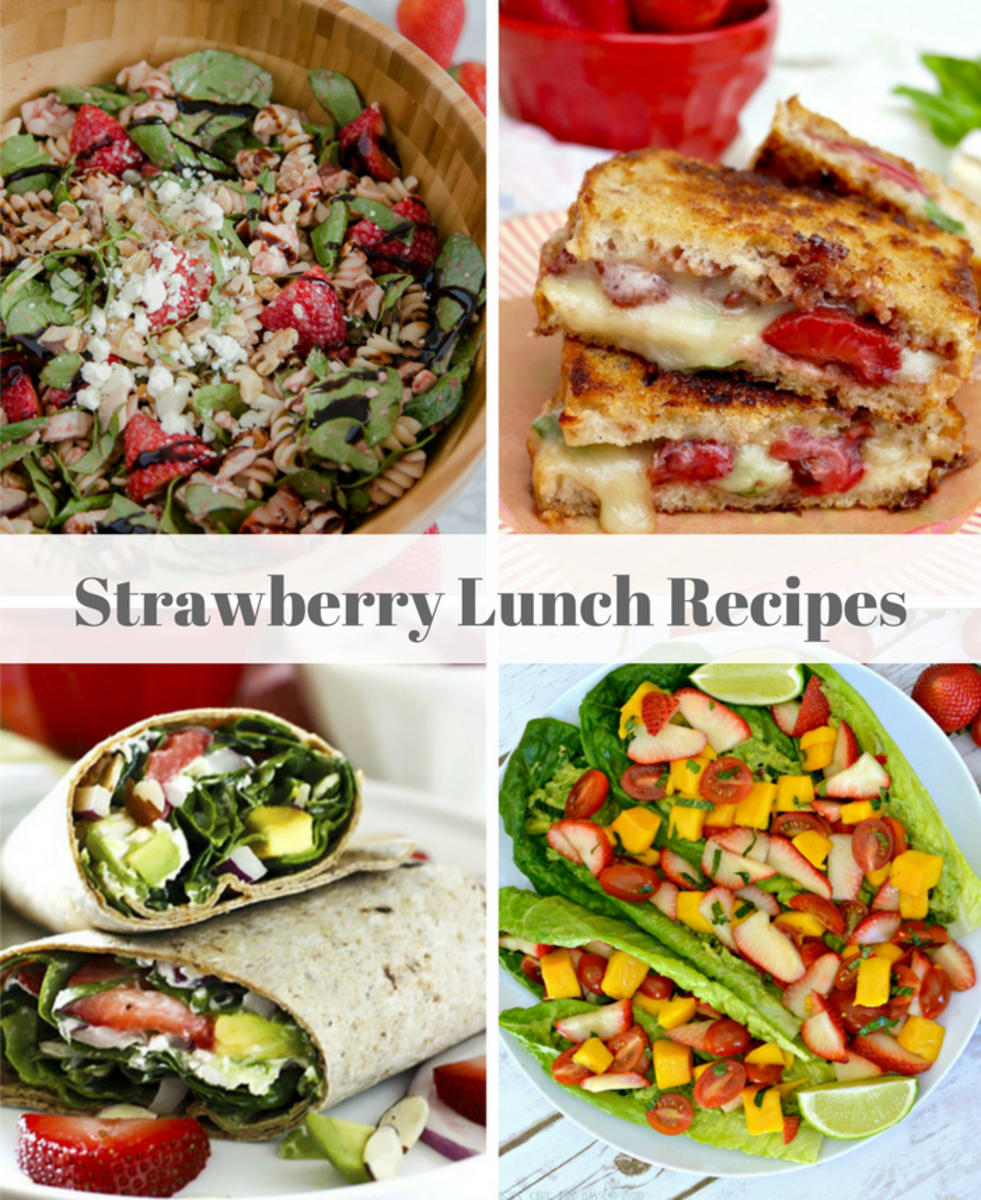 Strawberry Lucnh Recipes-1