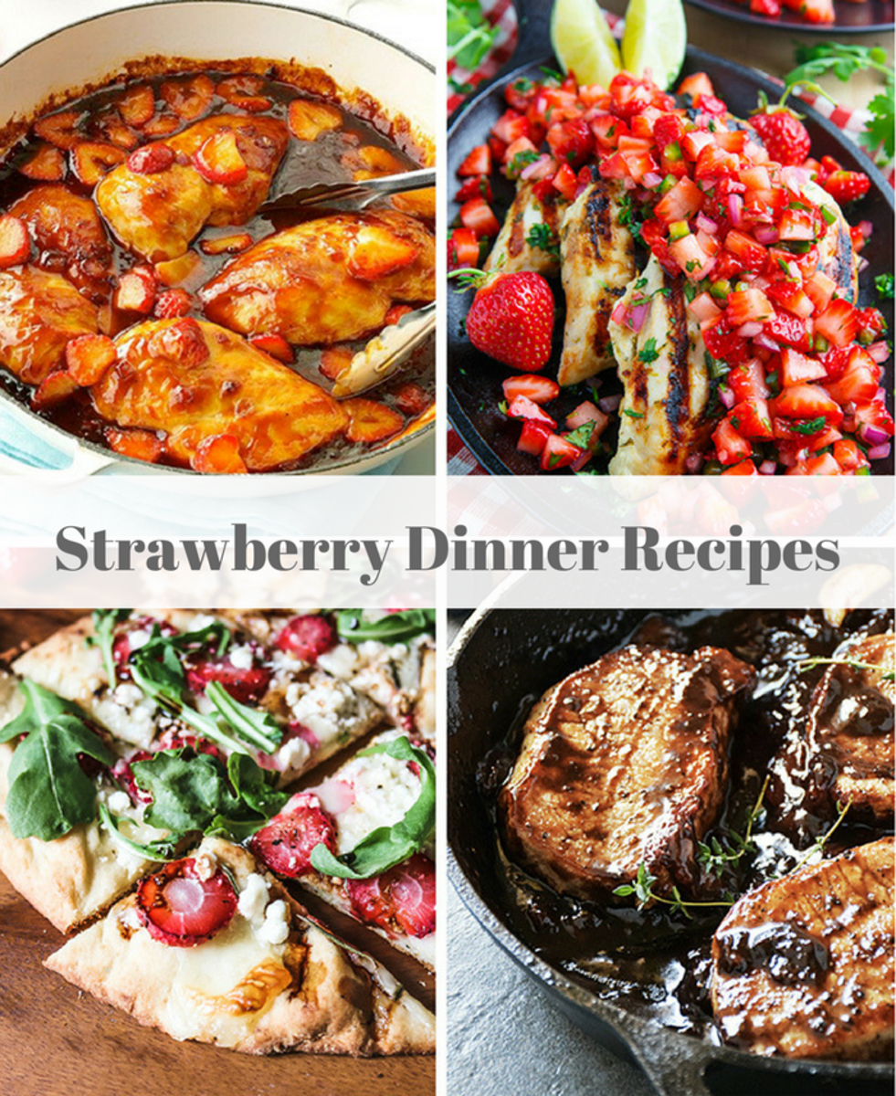 Strawberry Dinner Recipe-2