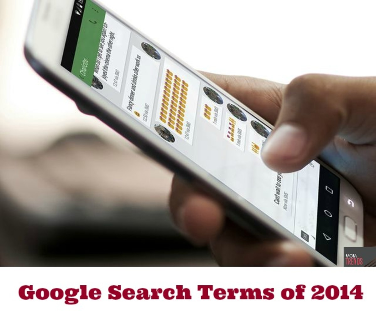 Google Search Terms of 2014