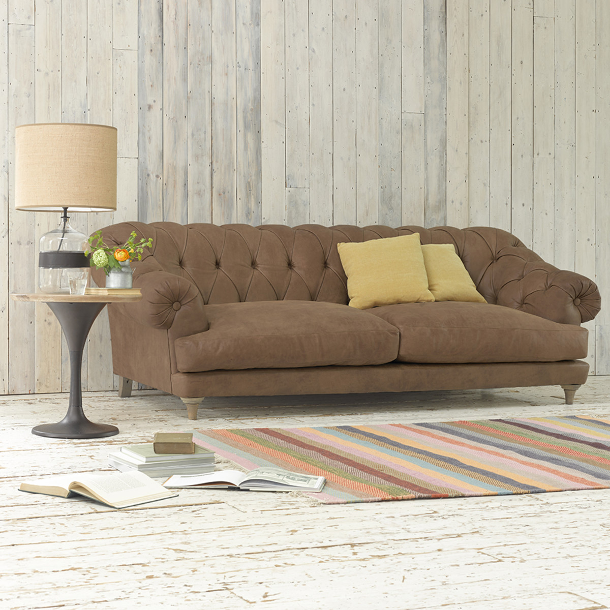 Loaf - Bagsie leather sofa from £2495 low-res