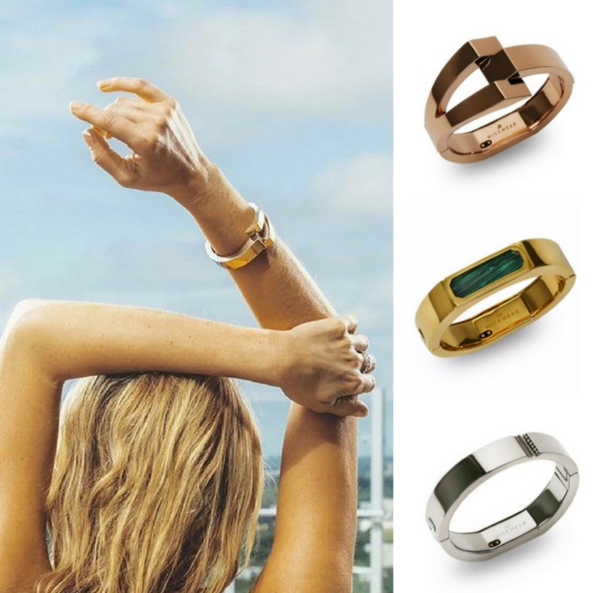 WiseWear Fitness Trakcing Jewlery for Moms