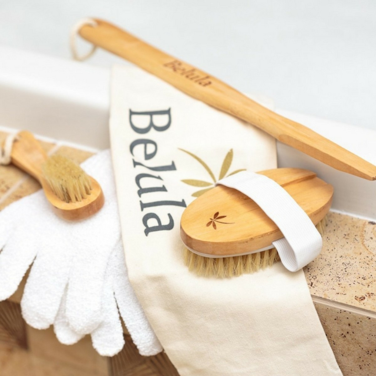 Belula Care Dry Brushing