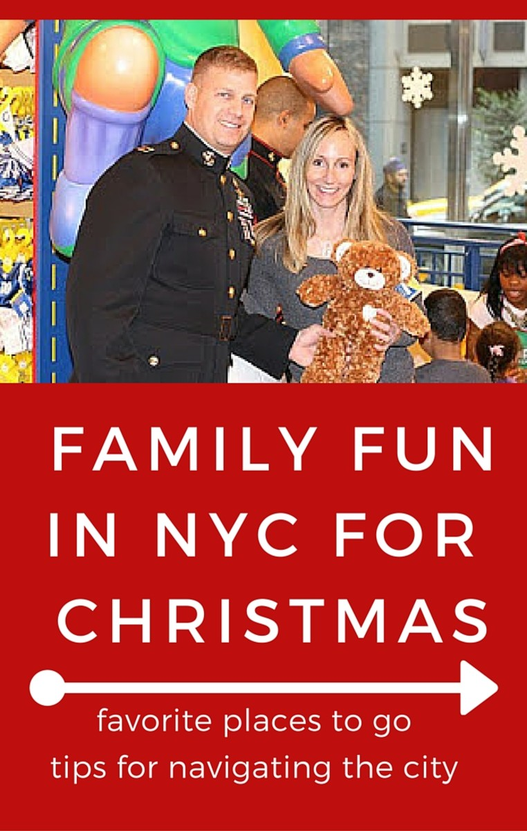 family fun for christmas in NYC