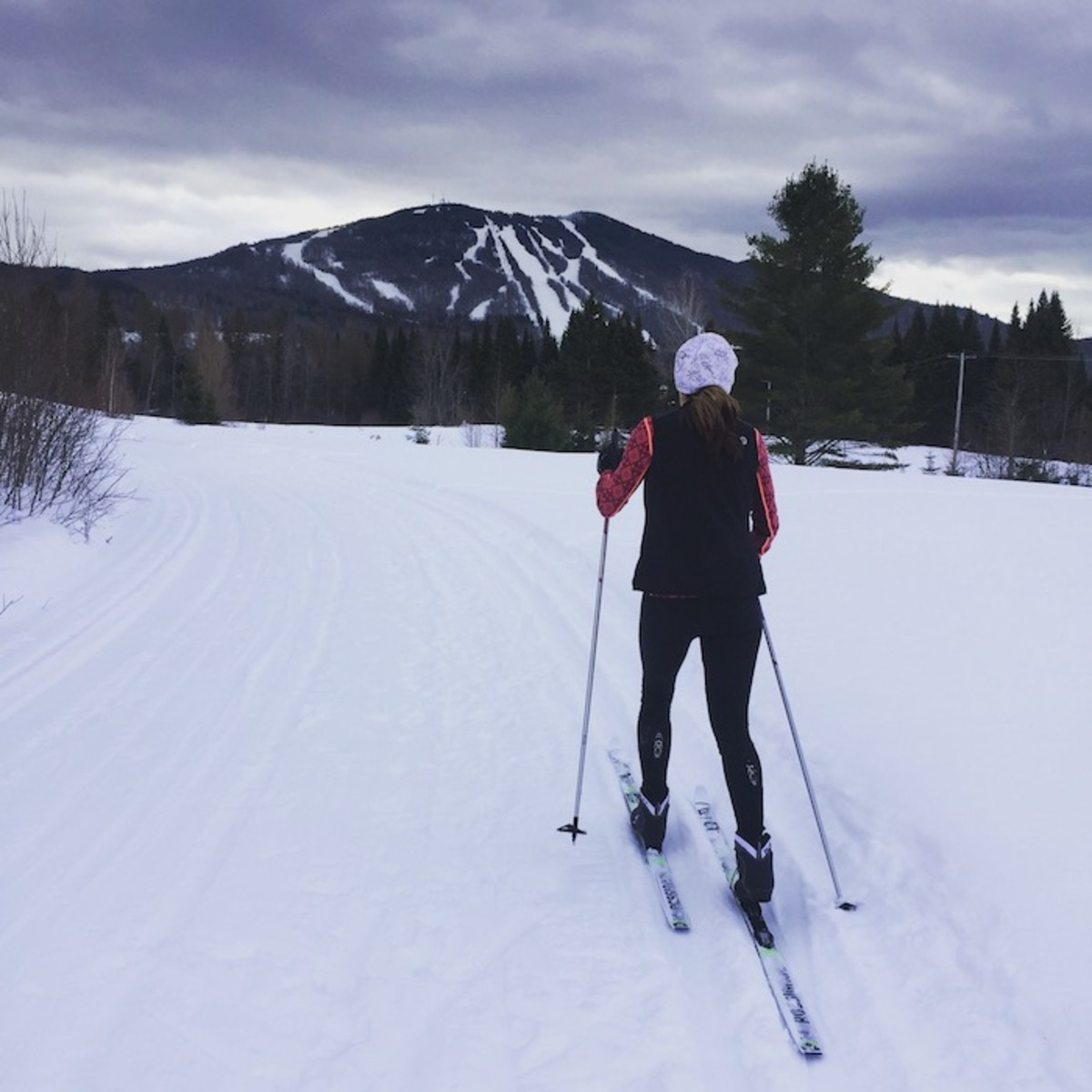 burke mountain nordic skiing