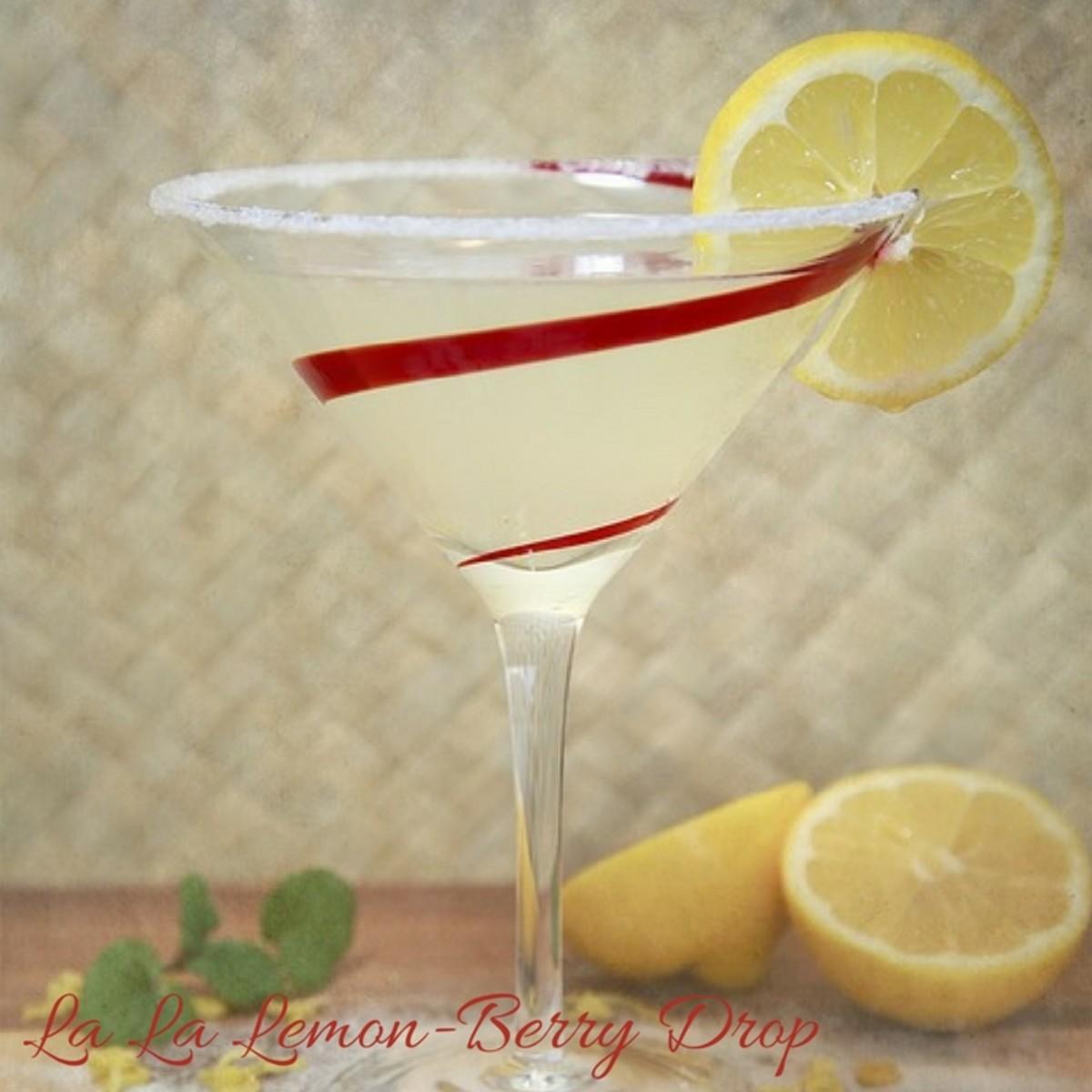 La La Land Lemon-Berry Drop
