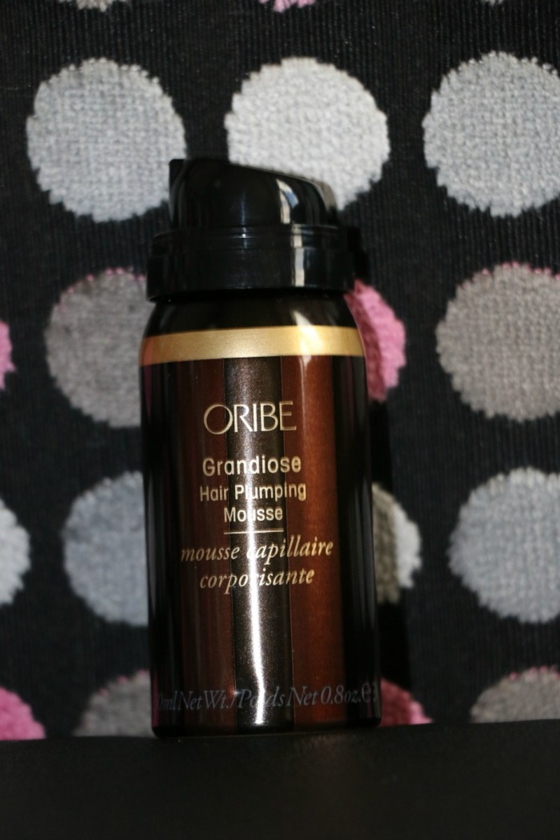 hair plumping mousse