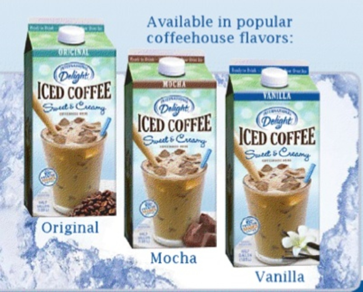 iced coffee flavors