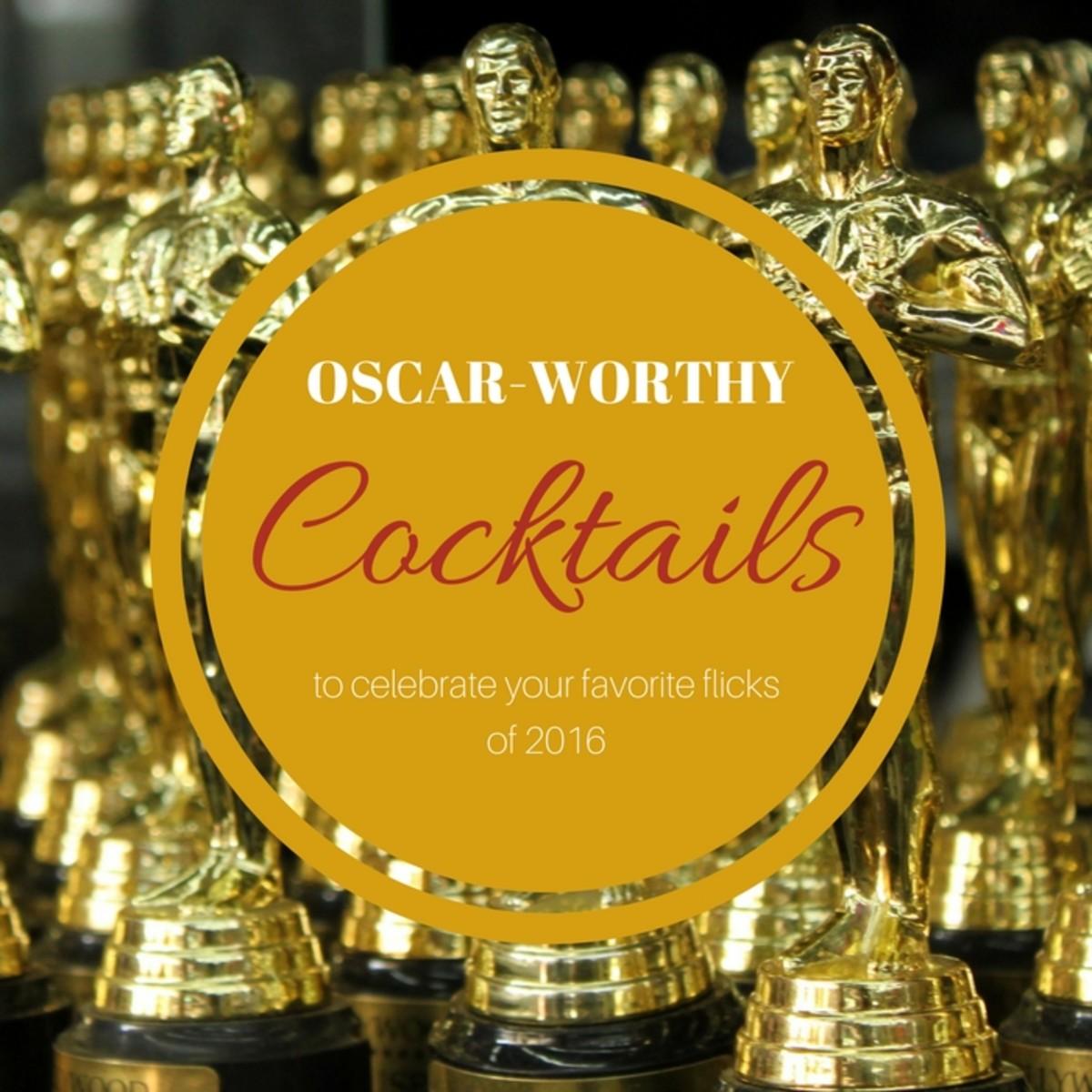 Oscar Worthy Cocktails with Cascade Ice