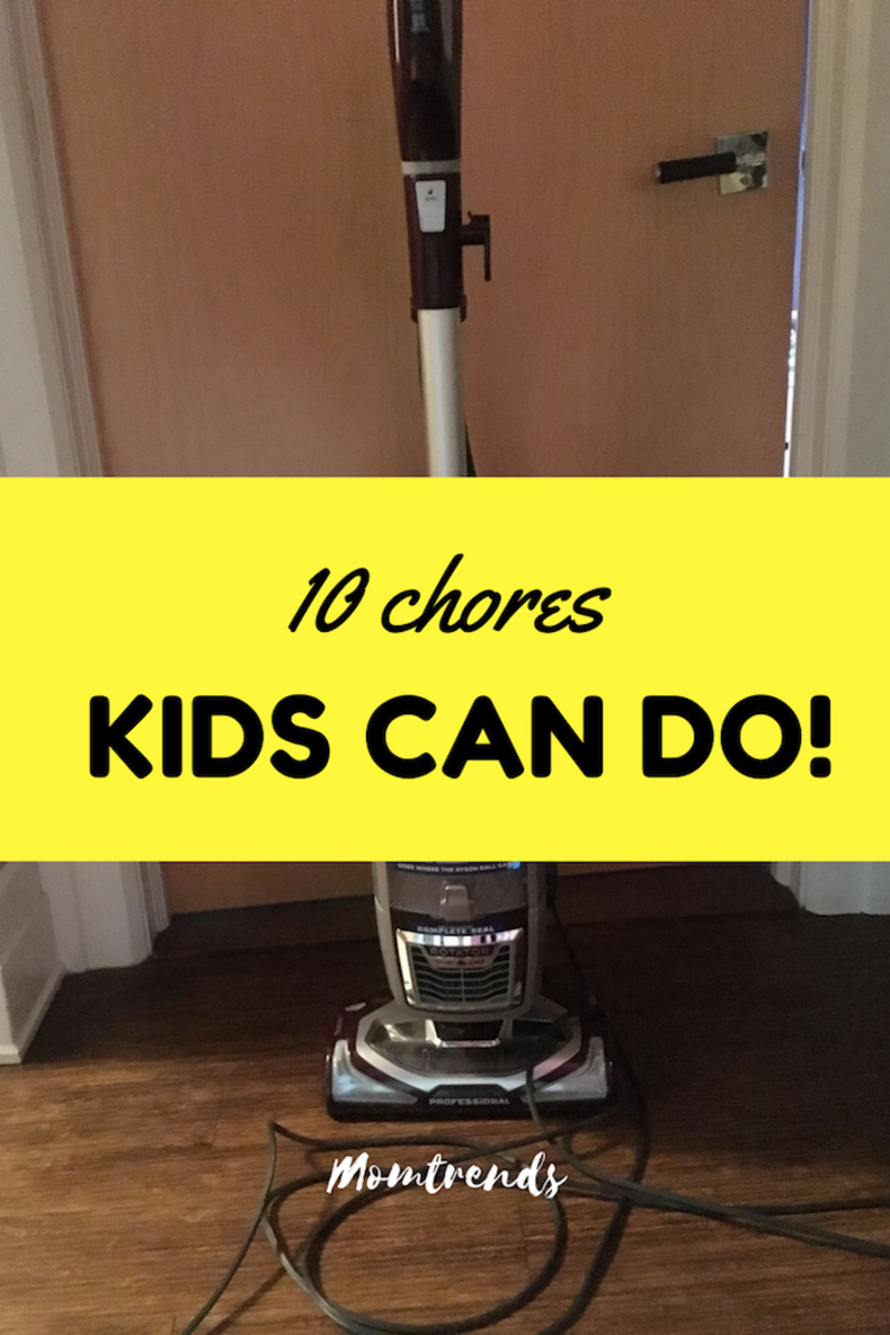 Chores Your Kids Can Do