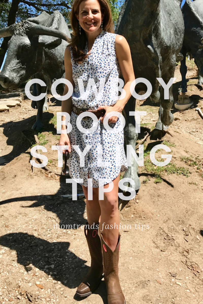 Cowboy Boots Spring Style Tips for moms