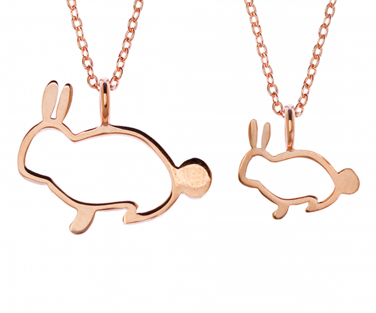 two, x two collection, kids jewelry, kids necklaces, easter, giveaway, bunny necklace, samantha Faye,