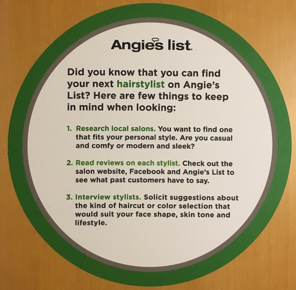 angies list tips