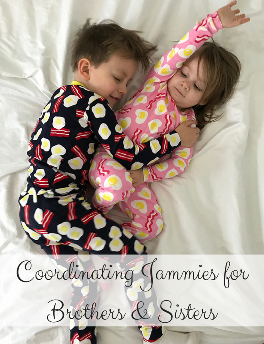 Coordinating PJs for Brothers & Sisters